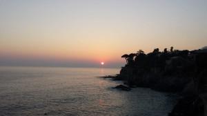 bogliasco tramonto